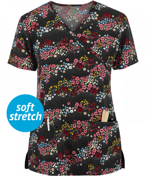 "Bluza medicala ""Town Arranged Ditsy Floral"" (GT507ADF) 0"