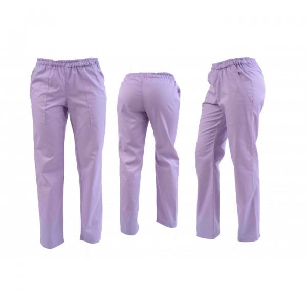 Pantaloni lila unisex 0