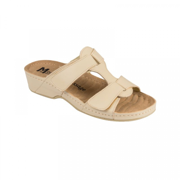 Papuci Medi+ 242 beige - dama 0