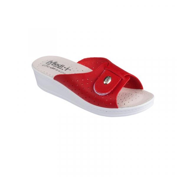 Papuci Medi+ 312SB rosu - dama 0