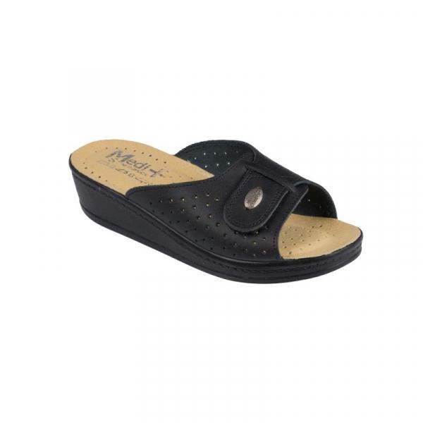 Papuci Medi+ 312SBM negru - dama 0