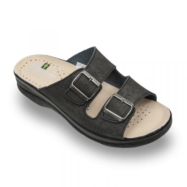 Papuci Medi+ 750SJ negru - barbati 0