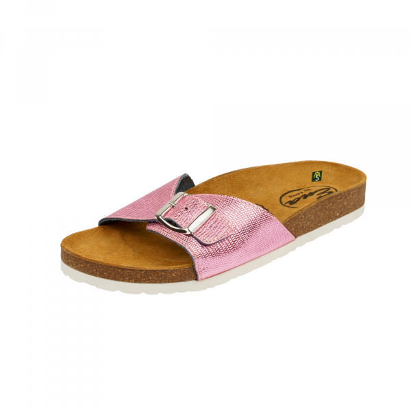 Papuci Medi+ Ena 31 lizard pink - dama 0