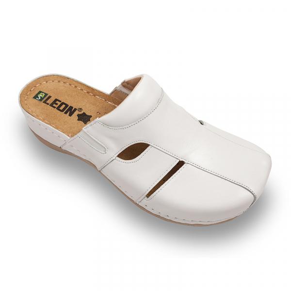 Saboti medicali Leon 925 alb - dama 0