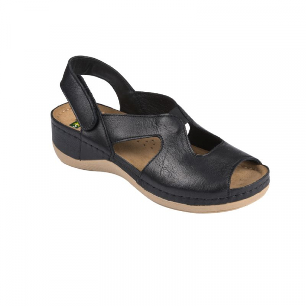 Sandale Leon 924 negru - dama 0