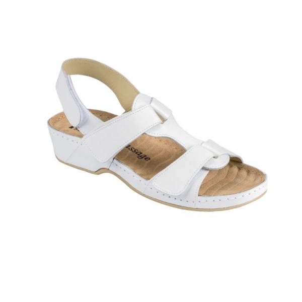 Sandale Medi+ 245 alb - dama 0