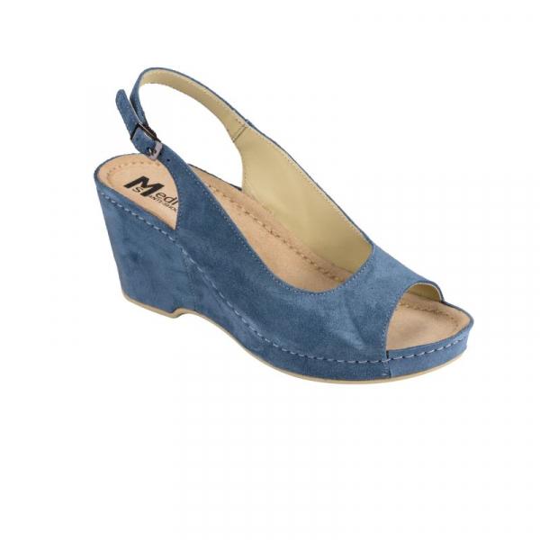 Sandale Medi+ 505 albastru - dama 0