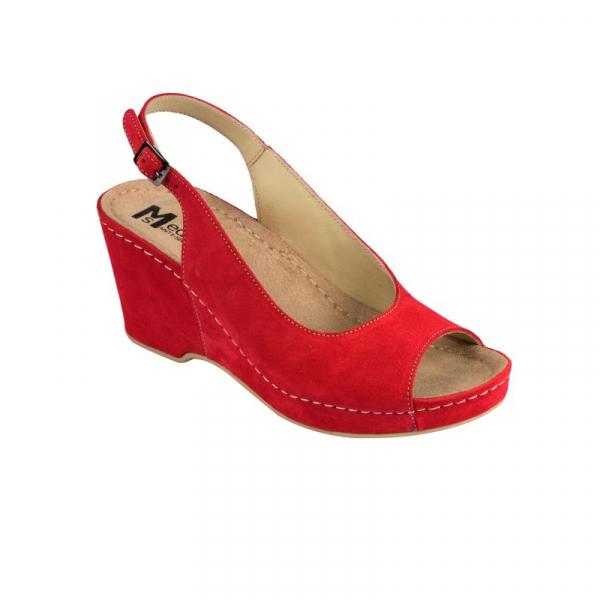 Sandale Medi+ 505 rosu - dama 0