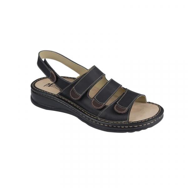 Sandale Medi+ 5892S negru - barbati - cu taloneta detasabila 1