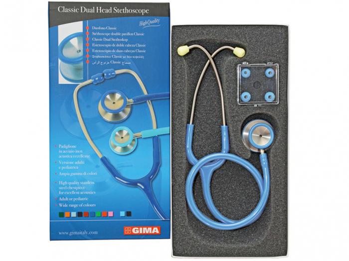 Stetoscop  ACUSTIC Classic II-albastru deschis (32533) [0]