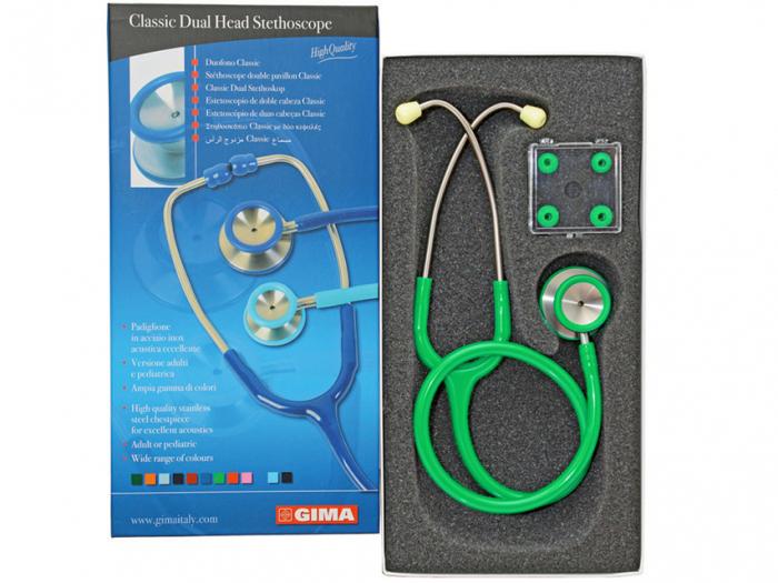 Stetoscop Acustic Classic II- turcoaz verde (32537) [0]