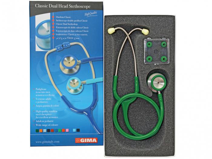 Stetoscop Acustic Classic II- verde (32531) [0]