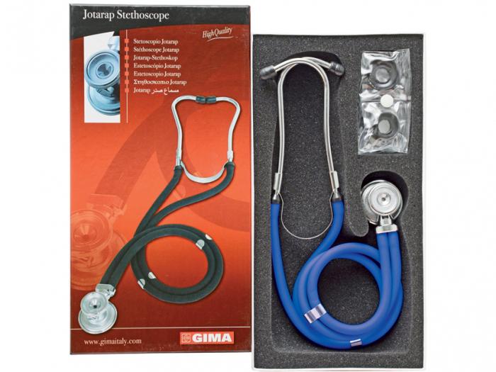 Stetoscop rappaport 5in1 Gima - albastru (32581) [0]
