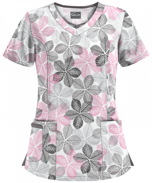 "Bluza medicala ""Subtle Leaves"" (UA626WSL) 0"