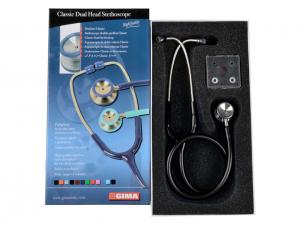 Stetoscop pediatric Accustic II Gima - negru (32516)1