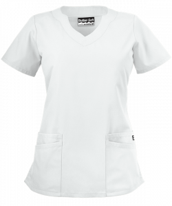 "Bluza medicala ""Scallop neck"" (UAS194C)0"