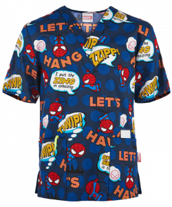 "Bluza medicala ""Tooniforms Marvel Spiderman"" (CK606MAI)0"