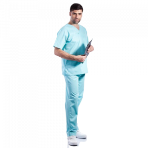 Costum medical aqua - unisex1