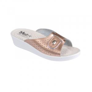 Papuci Medi+ 312SB metalic rose - dama0