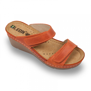 Papuci medicali Leon 1040 portocaliu - dama0