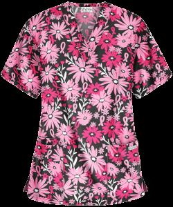 "Bluza medicala ""Floral Ribbon"" (PC61RBF)0"