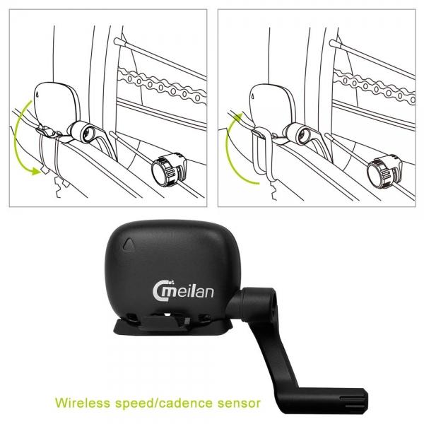Senzor de videza si cadenta Meilan 5