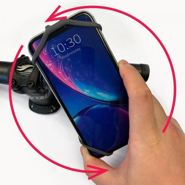 Suport Telefon cu prindere pe ghidonul bicicletei 3