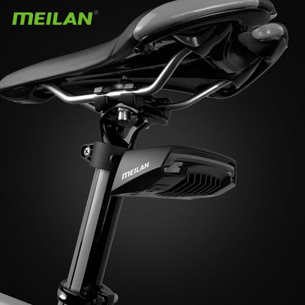 lumini bicicleta semnalizator bicicleta wireless meilan x5 3
