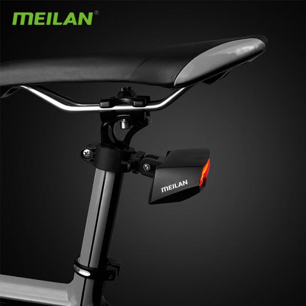 lumini bicicleta semnalizator bicicleta wireless meilan x5 2