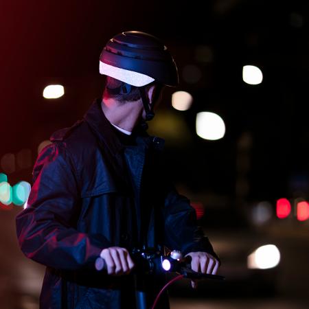 Casca de protectie pliabila pentru bicicleta Closca Loop Reflectorizanta [3]