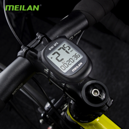 Ciclocomputer de biciciletă cu GPS Meilan M33