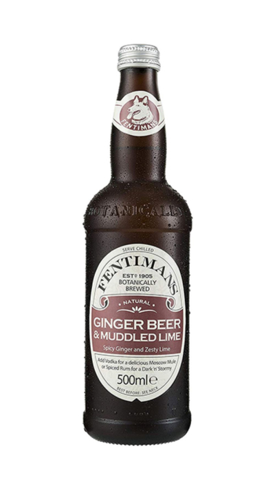 Bax Fentimans Ginger Beer And Muddled Lime, 8 X 500ML 0