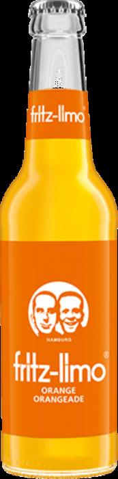 Bax fritz-limo-orangeade, 24 X 330ML 0