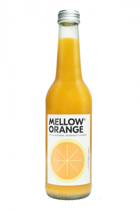 Bax Mellow - Orange Ginger, 24 X 330ML 0