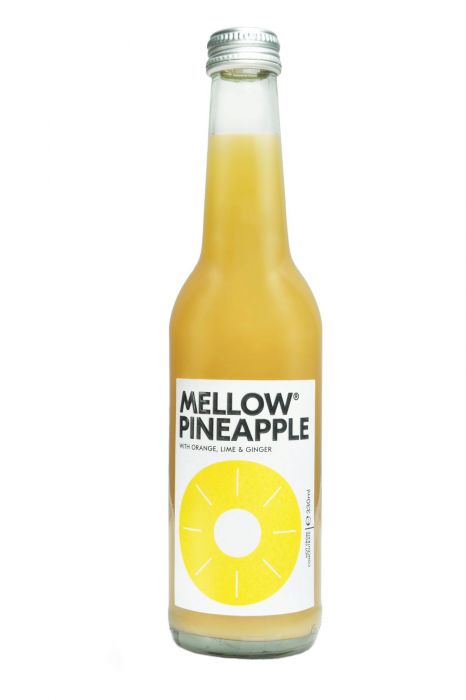 Bax Mellow - Pineapple Ginger, 24 X 330ML 0