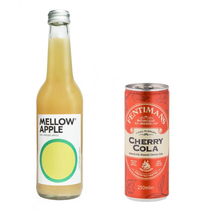 Pachet Promo: Mellow - Apple & Fentimans Cherry Tree Cola, 24 X 250ML 0