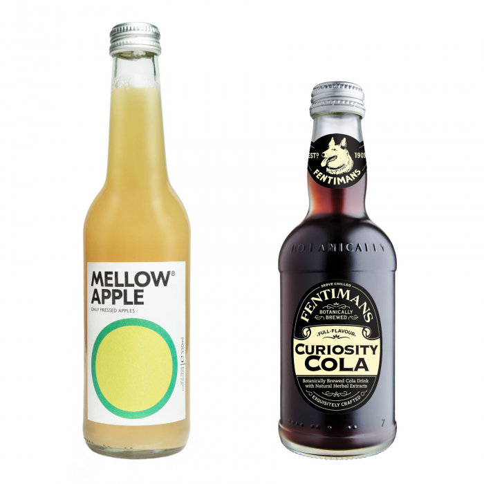 Pachet Promo: Mellow - Apple & Fentimans Curiosity Cola 12 X 275ML 0