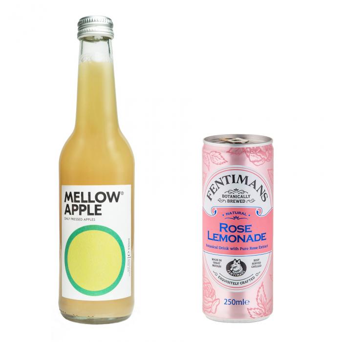 Pachet Promo: Mellow - Apple & Fentimans Rose Lemonade, 24 X 250ML 0