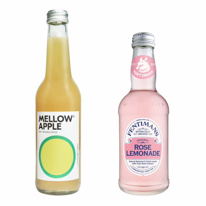 Pachet Promo: Mellow - Apple & Fentimans Rose Lemonade, 12 X 275ML 0
