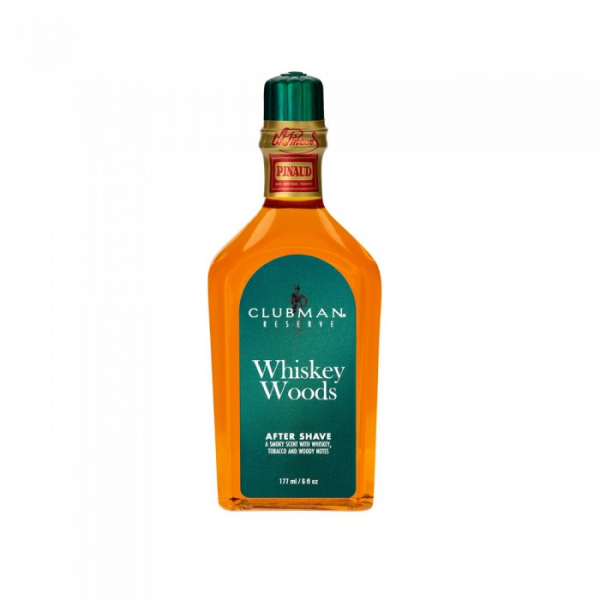 After Shave Clubman Pinaud Whiskey Woods 177 Ml 0