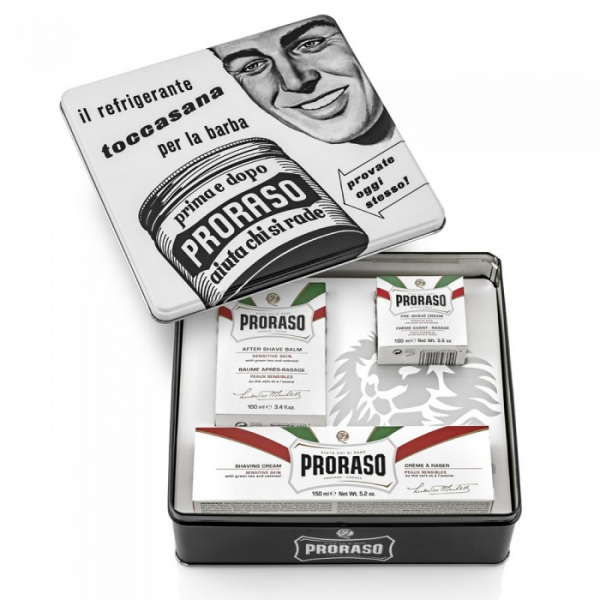 Set De Barbierit Proraso Vintage Selection Toccasana Sensitive 1