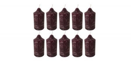 Cutie 10 Lumanari coronita Craciun D4.4xH6.5 cm Colorate [5]
