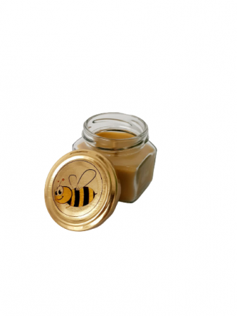 Lumanare ceara de albine in recipient de sticla [0]