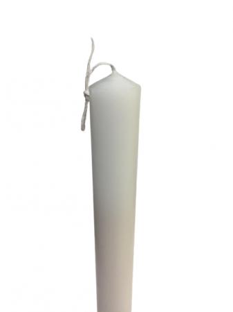 Lumanare clasica simpla  D4.6xH50 cm [0]