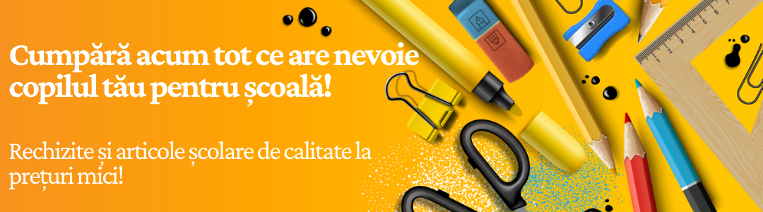 Banner Categorie - Rechizite si papetarie copii