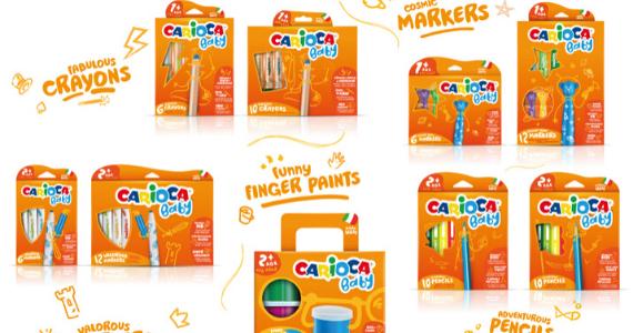 Carioci lavabile pentru copii - Carioca