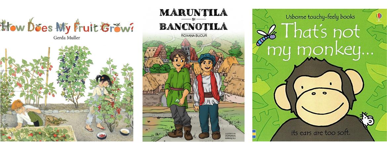 Carti educative pentru copii.