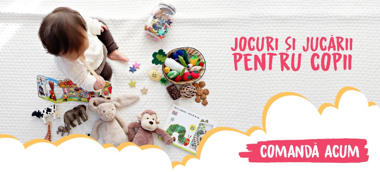 Banner carousel - Jocuri si jucarii educative pentru copii.