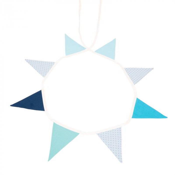 BOUNTY Ghirlanda textila Bleu