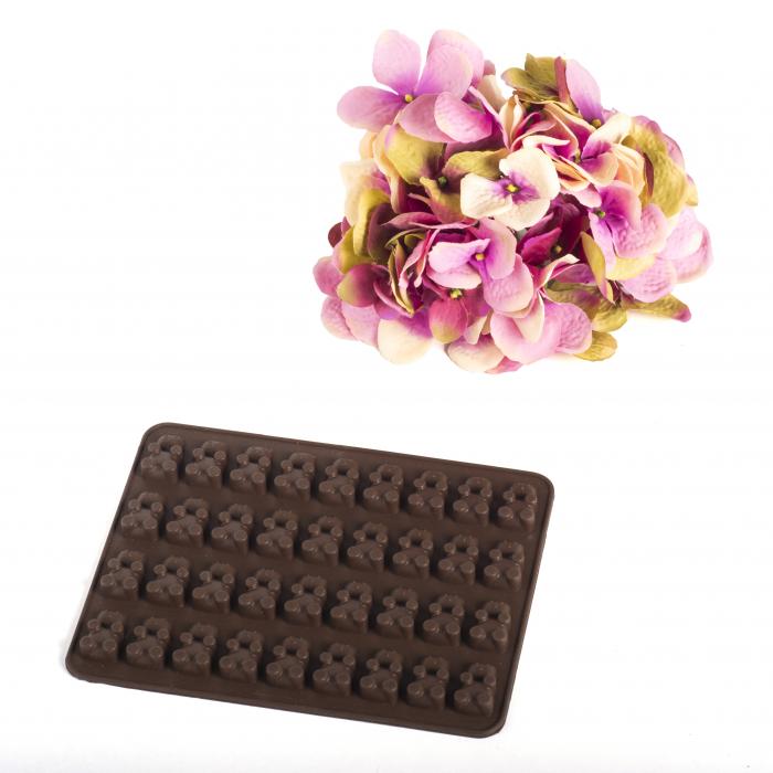 Forma silicon pentru ciocolata - ursuleti | www.micostore.ro.